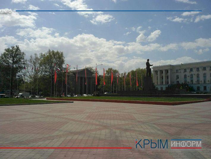 ВСимферополе наплощади Ленина планируют построить фонтан