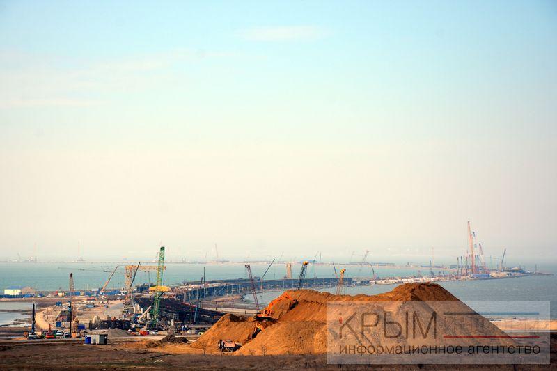 Что успели сделать загод— Крымский мост
