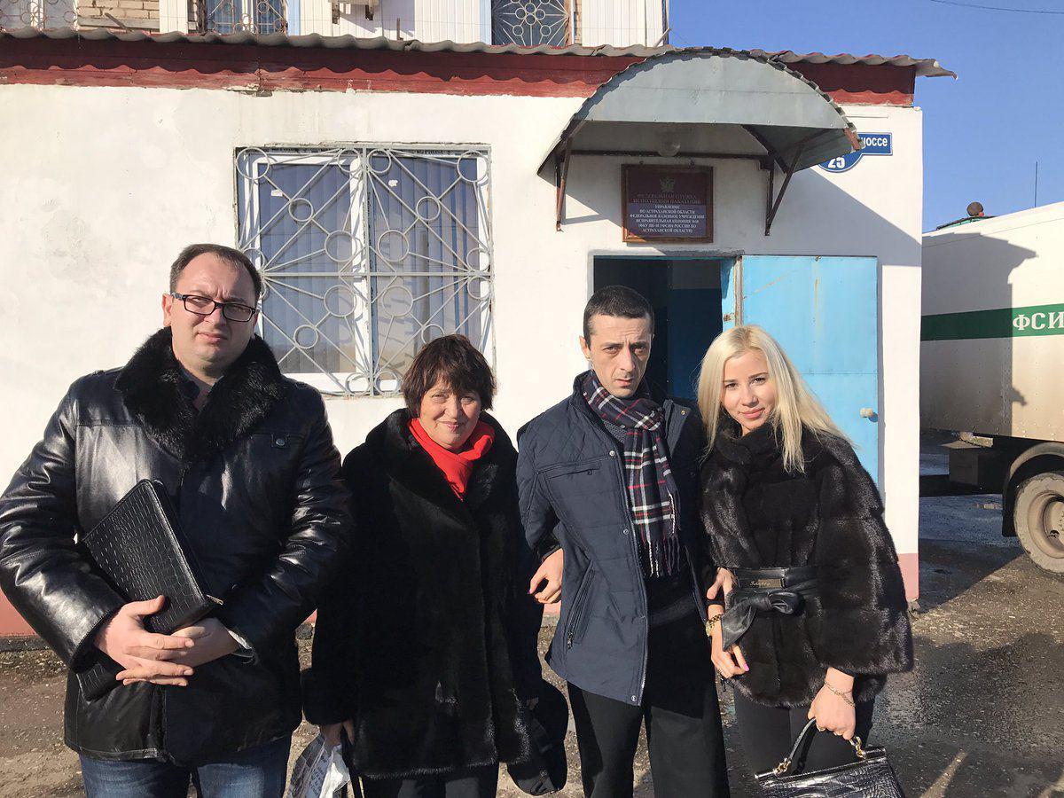 Сын украинского депутата Джемилева вышел на свободу в Астрахани
